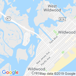 Google Map of Urie's Waterfront Restaurant